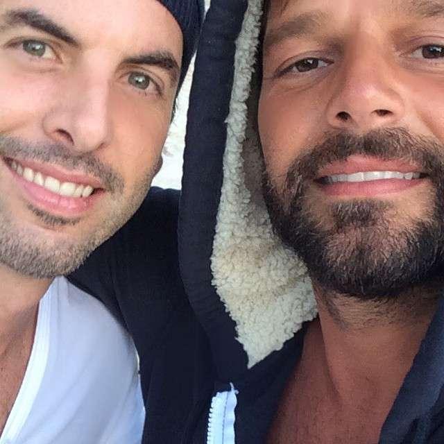 Ricky Martin y Carlos González terminaron su relación de 5 años a finales del 2013. Foto: Instagram/ricky_martin