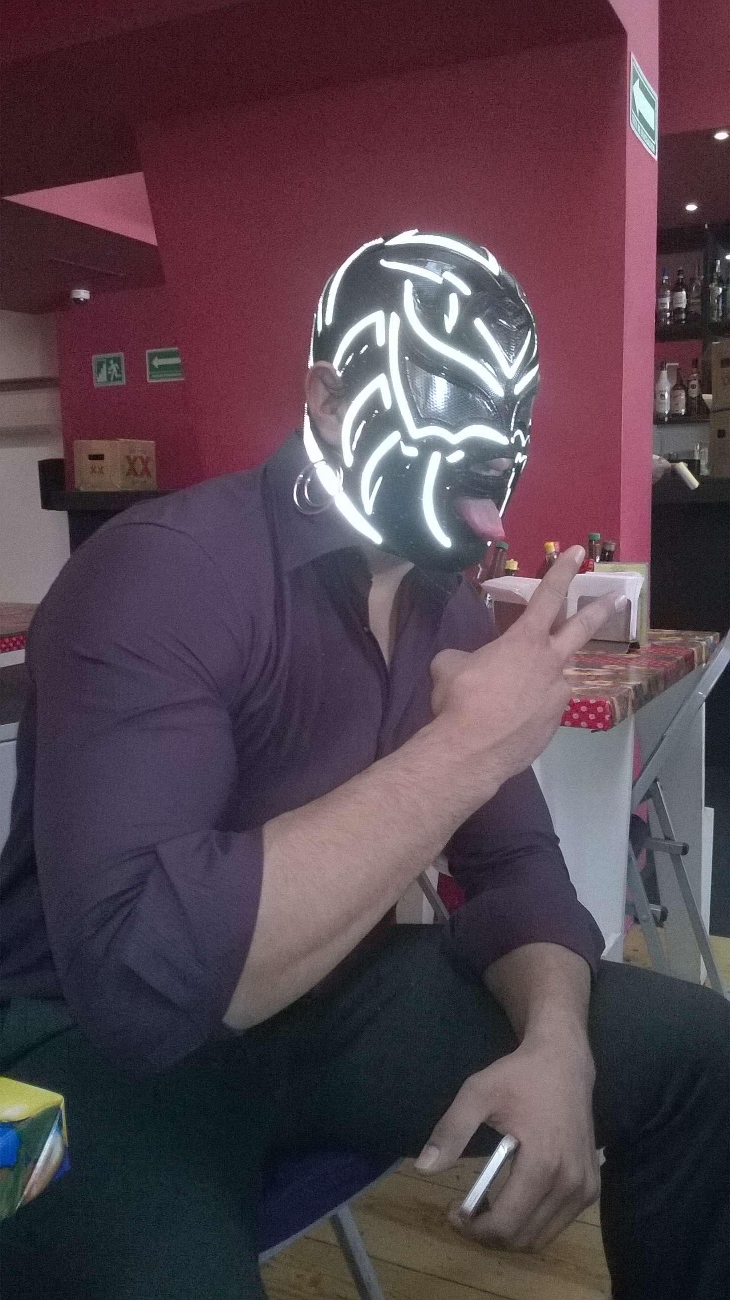 A La Sombra le gustan los retos. Foto: CMLL
