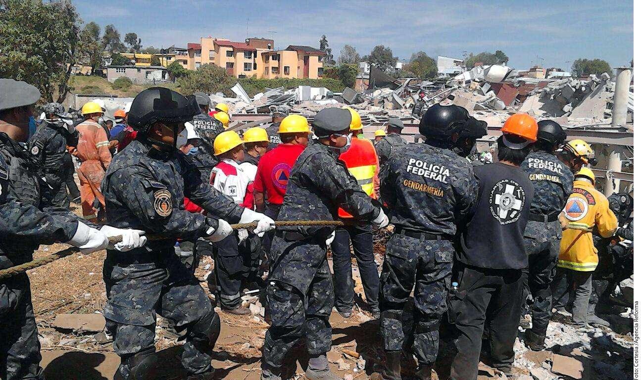 Explosión de pipa Foto: Agencia Reforma