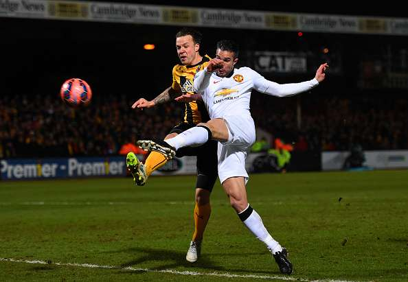 Manchester United igualó sin goles en Cambridge, y ahora debe finiquitar la eliminatoria en Old Trafford. Foto: Getty Images