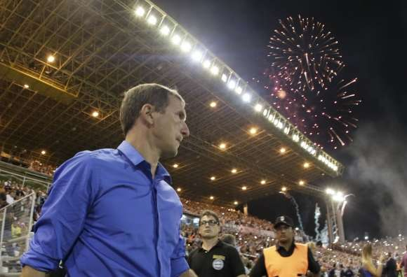 Arruabarrena se mostró contento por la clasificación a la Libertadores. Foto: Gentileza Prensa Boca Juniors/