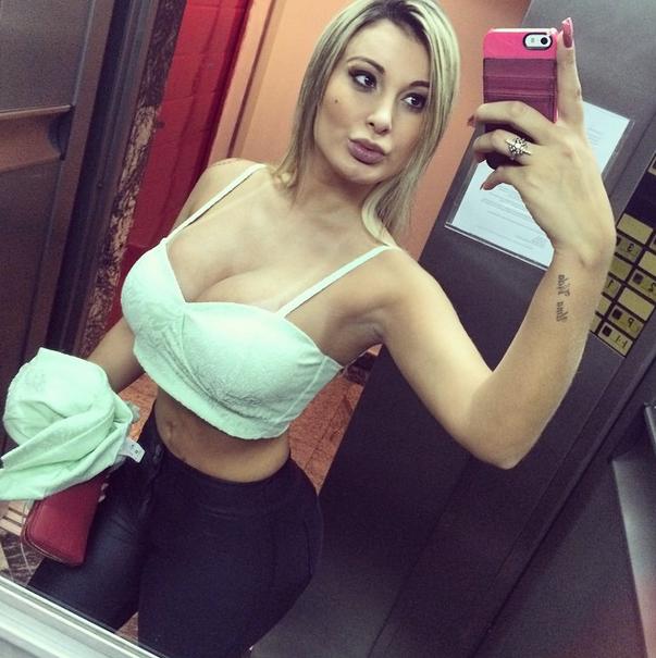 Andressa Urach antes de sufrir complicaciones en su operación. Foto: Instagram / Andressa Urach