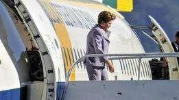 Dilma chega à Costa Rica para a Celac | Foto: EPA Foto: BBC Mundo/Copyright