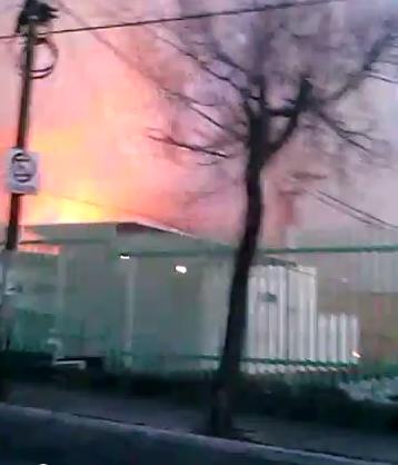 Un ciudadano captó en video el momento de la explosión en el Hospital Materno Infantil de Cuajimalpa. Foto: YouTube