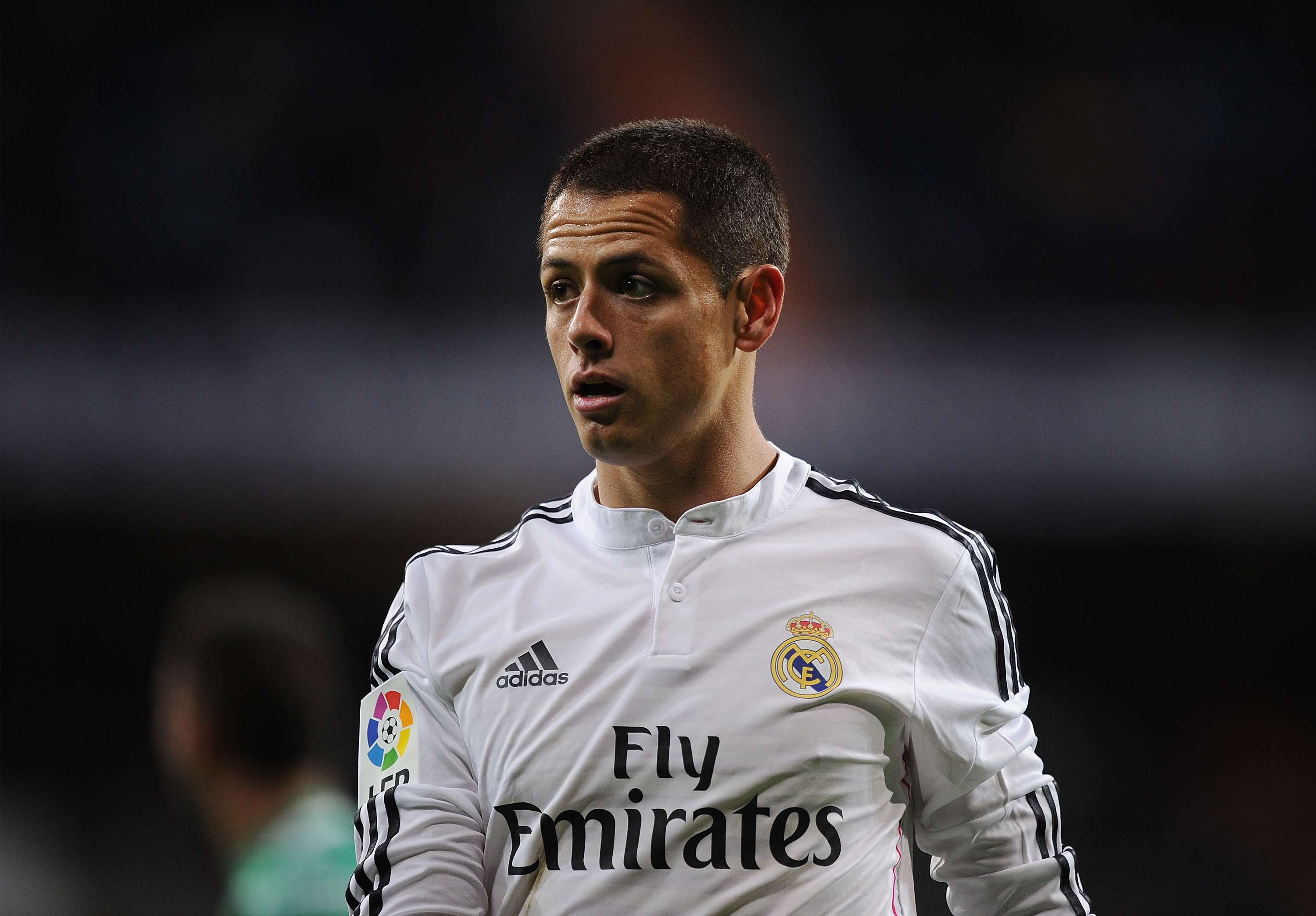 Chicharito se planteó su salida del Real Madrid. Foto: Getty Images