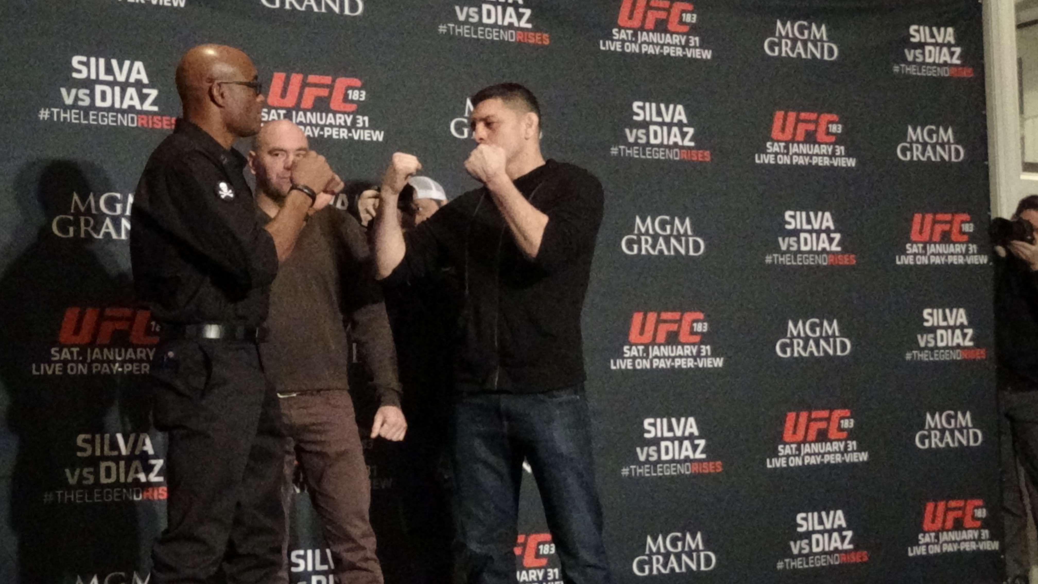 Lutadores se enfrentam neste sábado pelo UFC 183, no MGM, em Las Vegas Foto: Guilherme Dorini/Terra