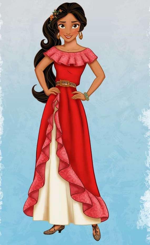 Elena de Avalor hará su debut en 2016 en la serie de Disney Junior, 'Princesita Sofía'. Foto: Disney