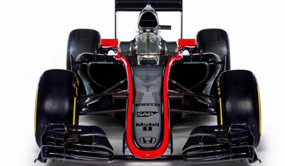 El nuevo bólido de la escudería McLaren. Foto: Cortesía McLaren