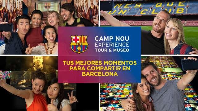 Muchos visitantes recibe el Camp Nou Experience. Foto: Cortesía Barcelona