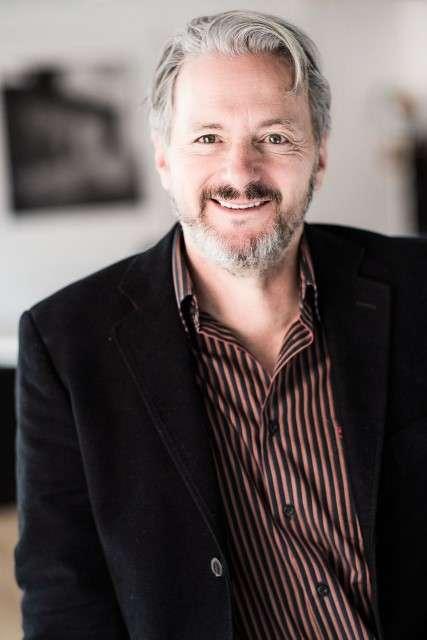 Sergio Cabrera, director de cine colombiano. Foto: Hay Festival Colombia/Archivo particular