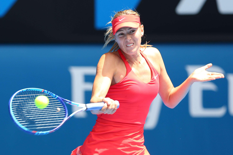 Sharapova no pasó apuros para derrotar a Marakova. Foto: Getty Images