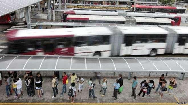 Software testado por São Paulo analisa dados do Bilhete Único e dos GPS dos ônibus Foto: Reuters