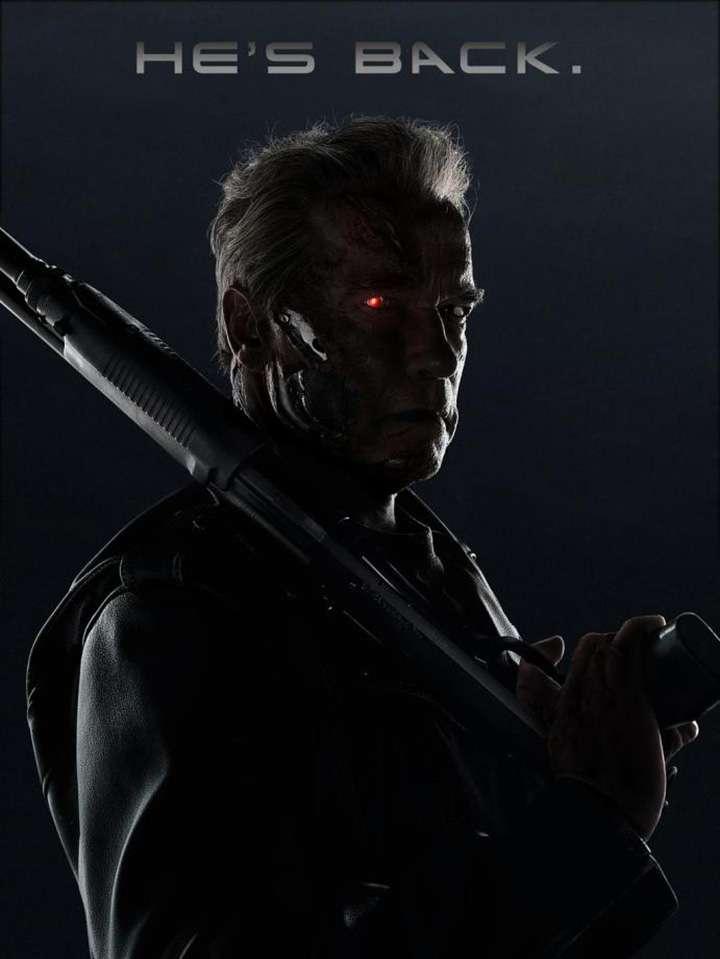 También se estrenó un póster en el que aparece Arnold Schwarzenegger como el emblemático 'T-800'. Foto: Paramount Pictures