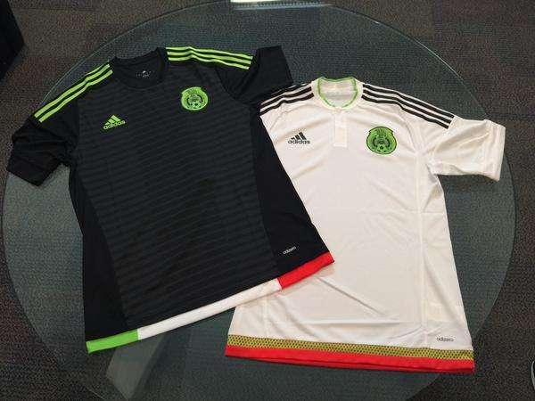 Nuevos uniformes de México. Foto: Twitter Miguel Herrera