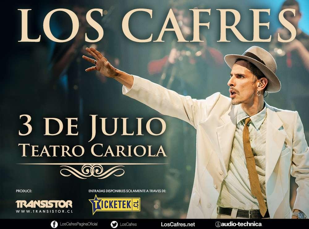 Los Cafres se presentarán el 6 de julio. Foto: Gentileza