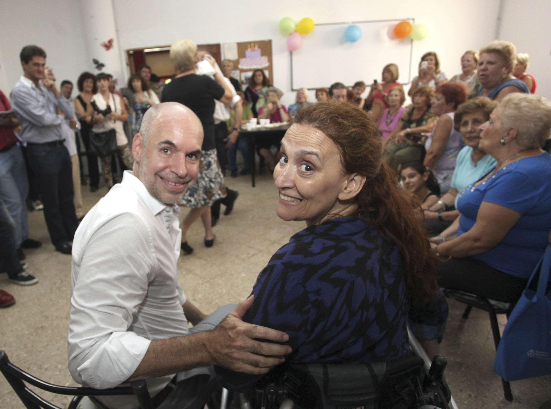 La senadora del PRO Gabriela Michetti remarcó la importancia de la candidatura de Horacio Rodríguez Larreta como próximo jefe de Gobierno porteño. Foto: NA