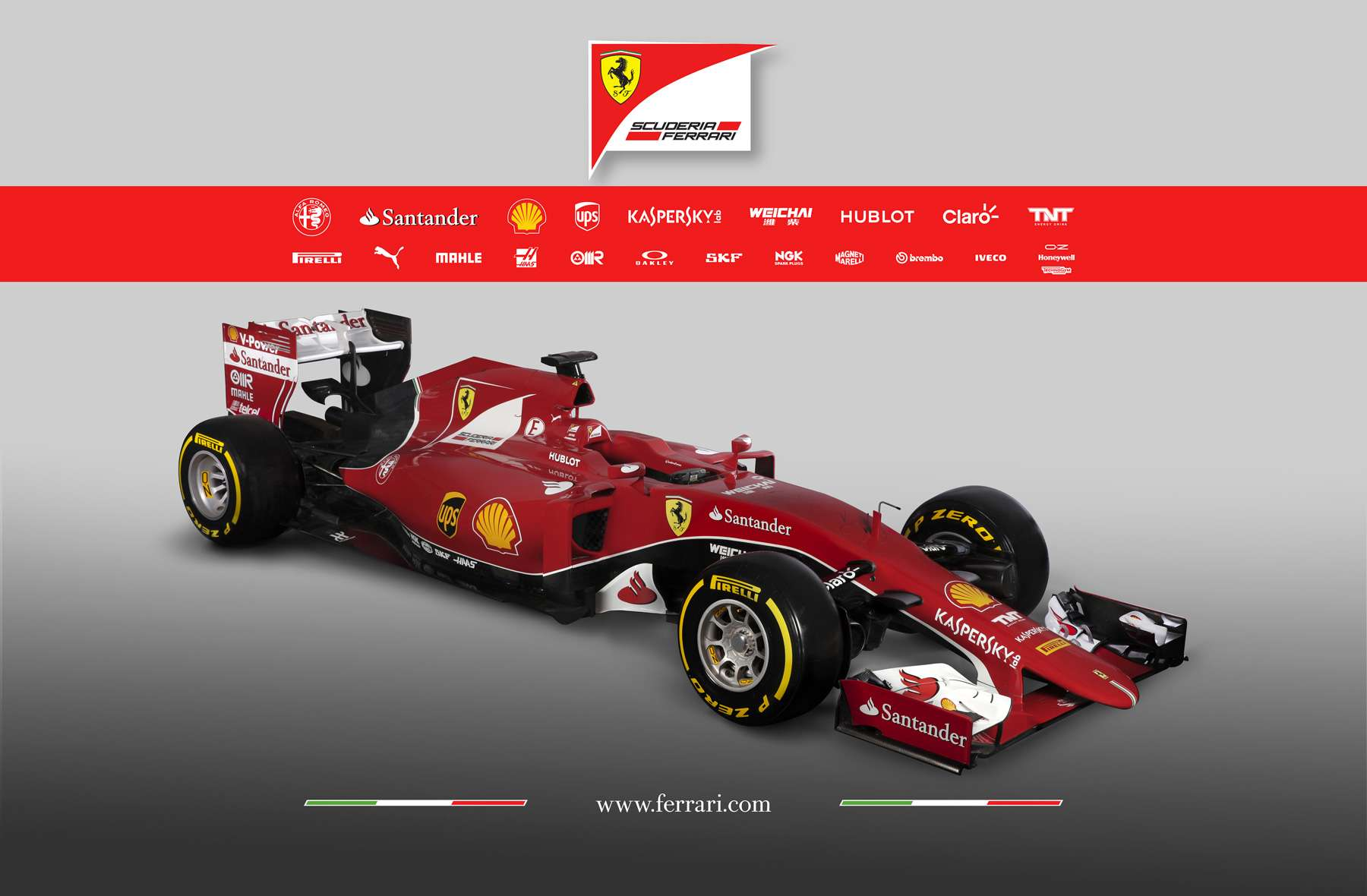 Ferrari ha presentado su nuevo monoplaza. Foto: Ferrari