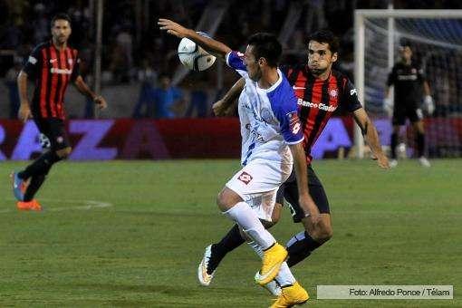 San Lorenzo venció por 1 a 0 a Godoy Cruz como visitante en Mendoza, lo que le permitió quedarse con la Copa Amistad que estaba en juego. Foto: Télam