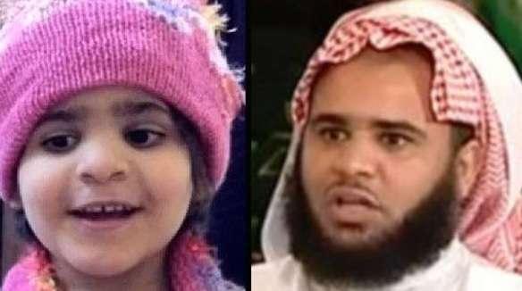 Saudita religioso foi acusado de torturar, abusar e matar filha de cinco anos Foto: The Independent/Reprodução