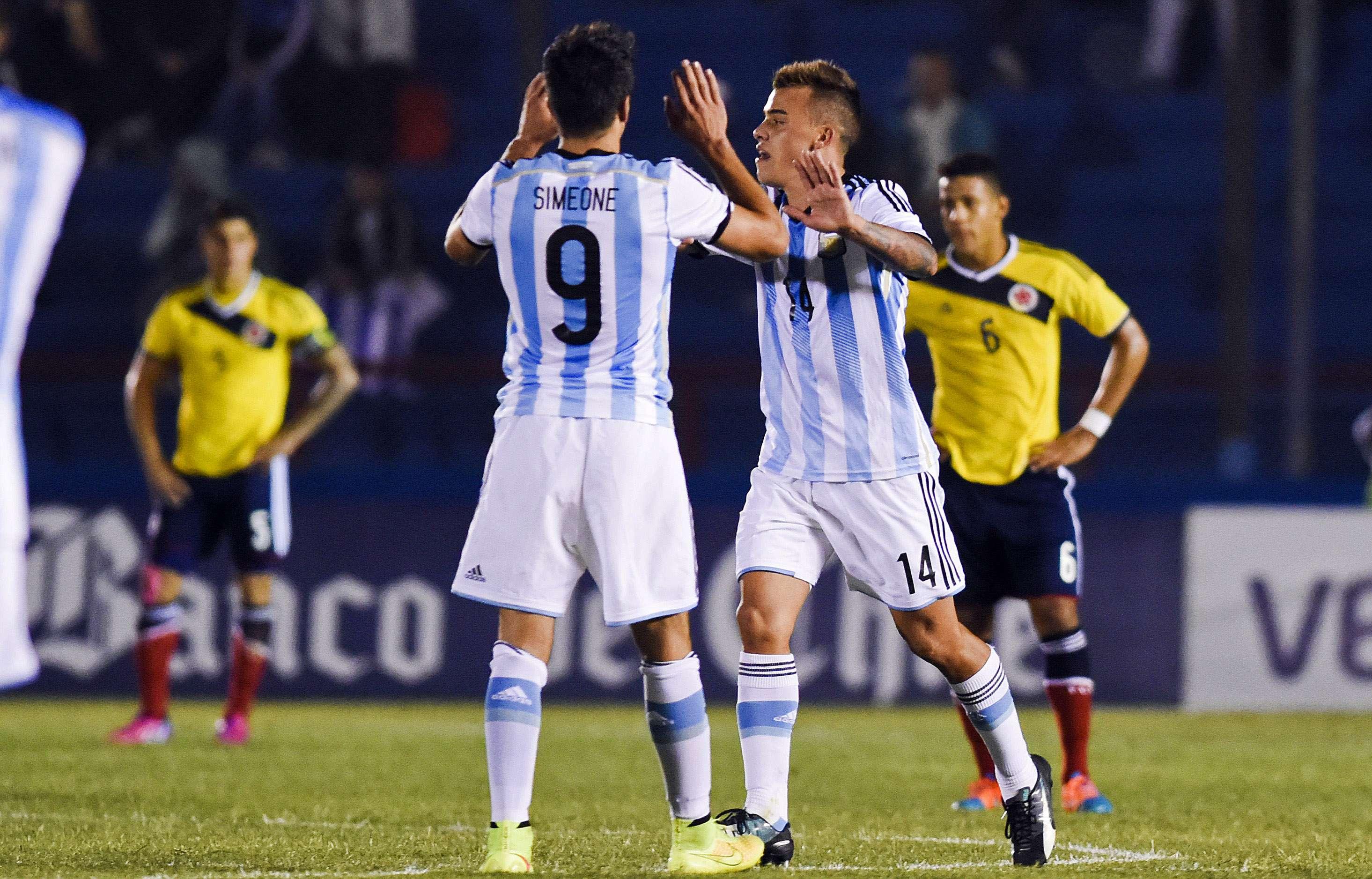 Compagnucci livra Argentina de derrota Foto: Matilde Campodonico/AP
