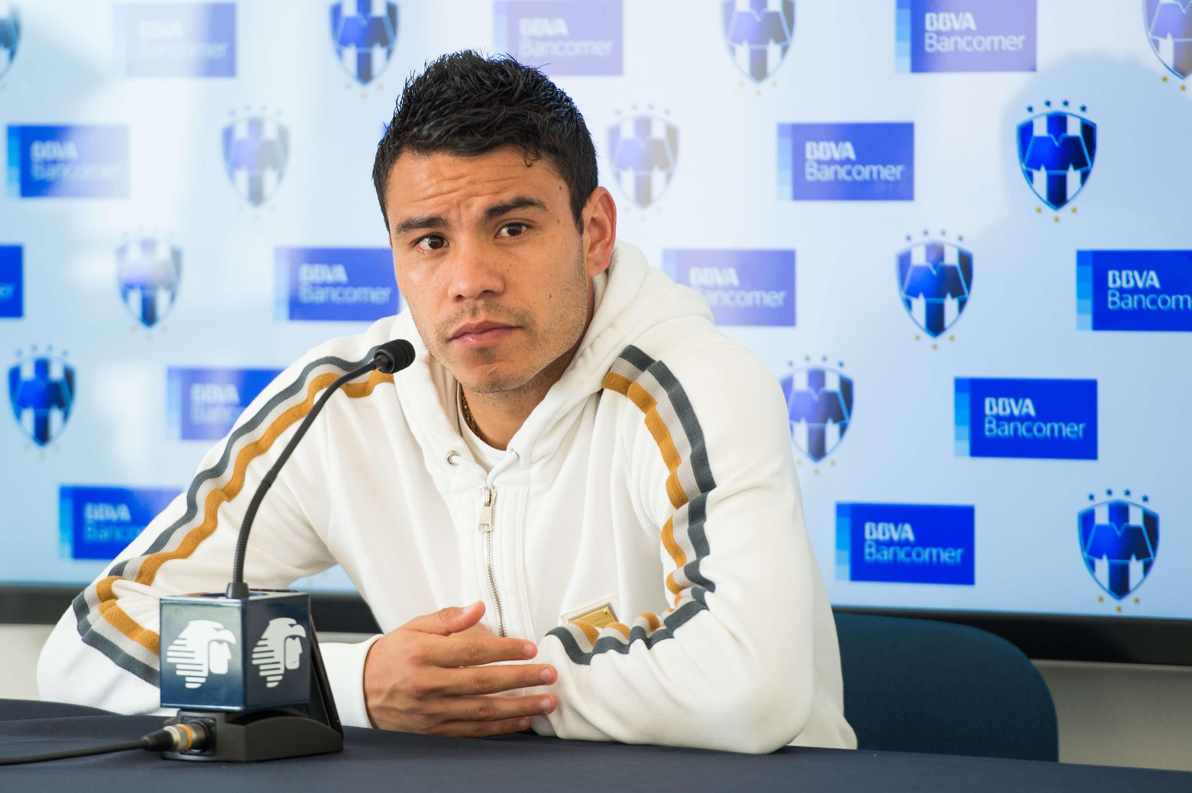 Pablo Barrera, mediocampista de los Rayados de Monterrey- Foto: Mexsport