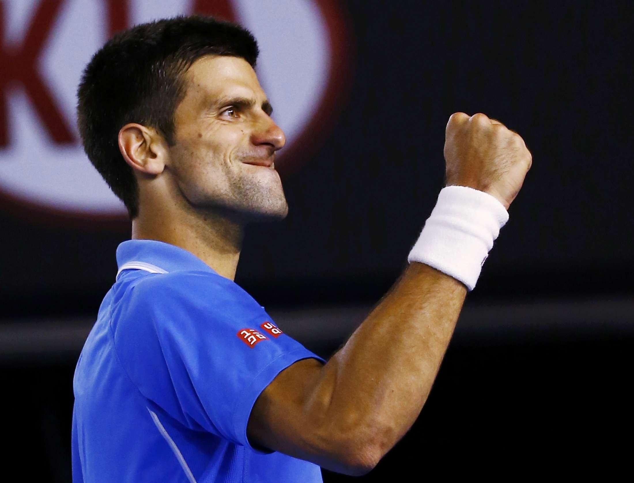 Djokovic sofreu até o quarto set; depois despachou Wawrinka com pneu Foto: Issei Kato/Reuters