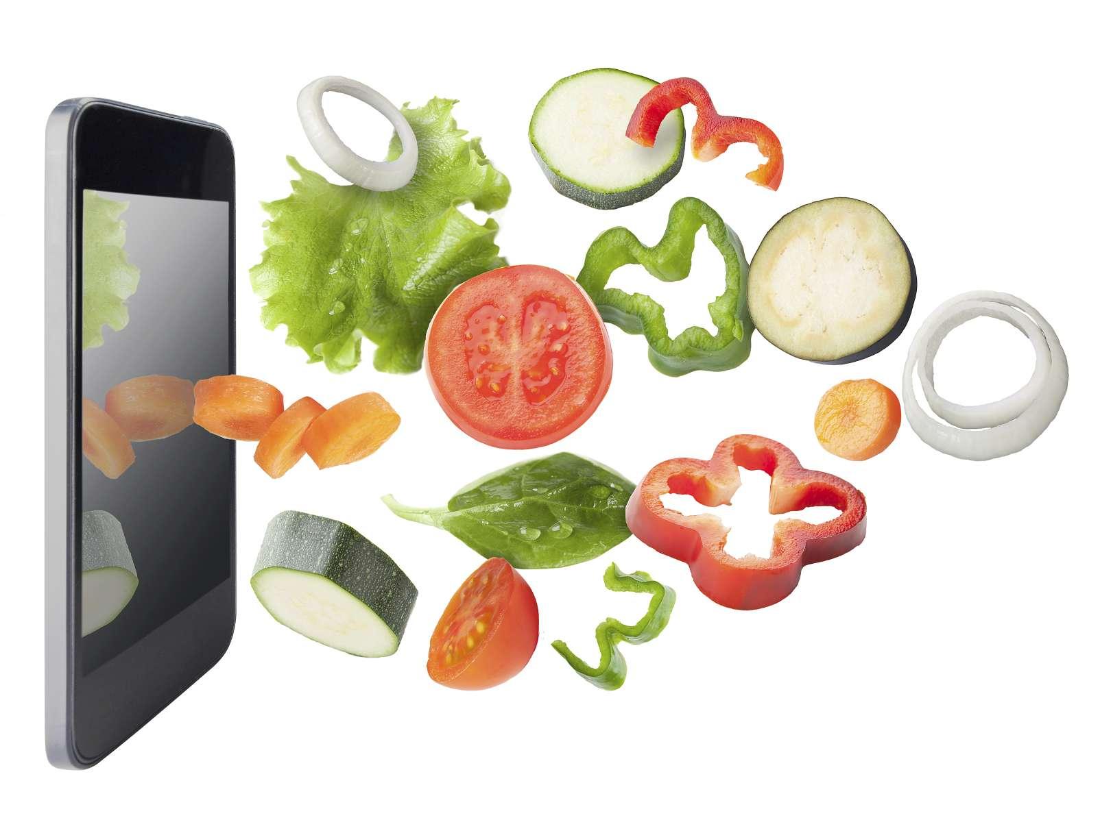 Las apps de cocina se han convertido en un aliado para variar la dieta diaria. Foto: iStock