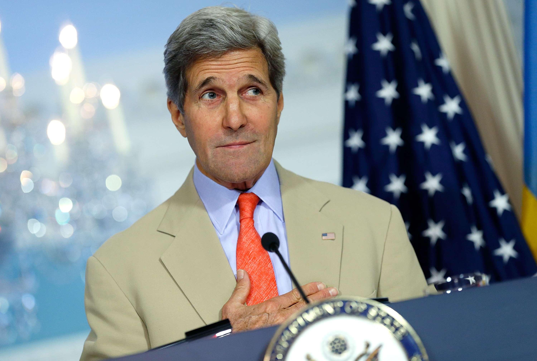 John Kerry no estuvo al tanto de su casa por acompañar al presidente Barack Obama en su visita a Arabia Saudí. Foto: Getty Images