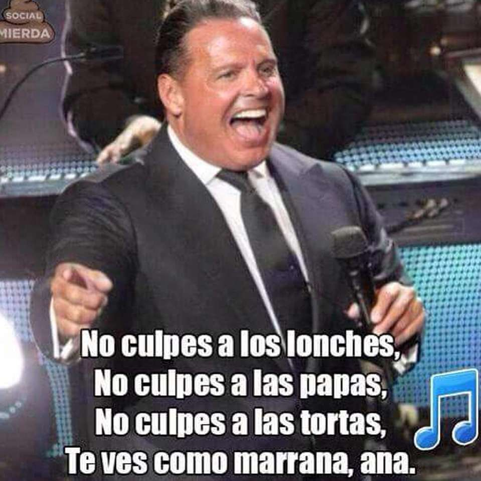 Memes Luis Miguel Foto: Twitter