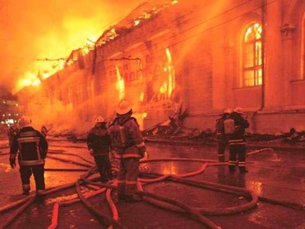 26 de abril de 2013.- Un incendio consumió un hospital psiquiátrico en las afueras de Moscú, provocando la muerte de 38 personas, algunas de ellas sedadas en sus camas. Foto: Youtube.com