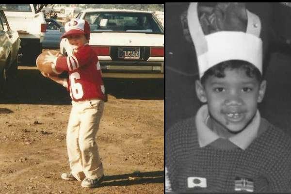 Así eran Tom Brady y Russell Wilson Foto: Divulgación internet