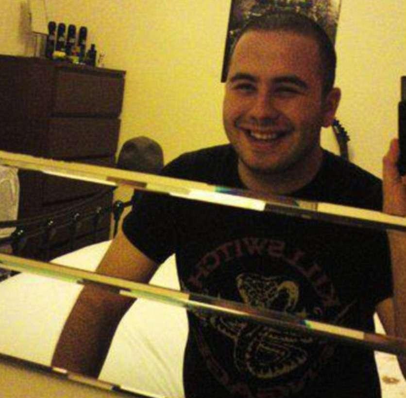 Ryan Reid foi cumprirá uma pena de 15 meses de prisão Foto: Daily Mail/Reprodução