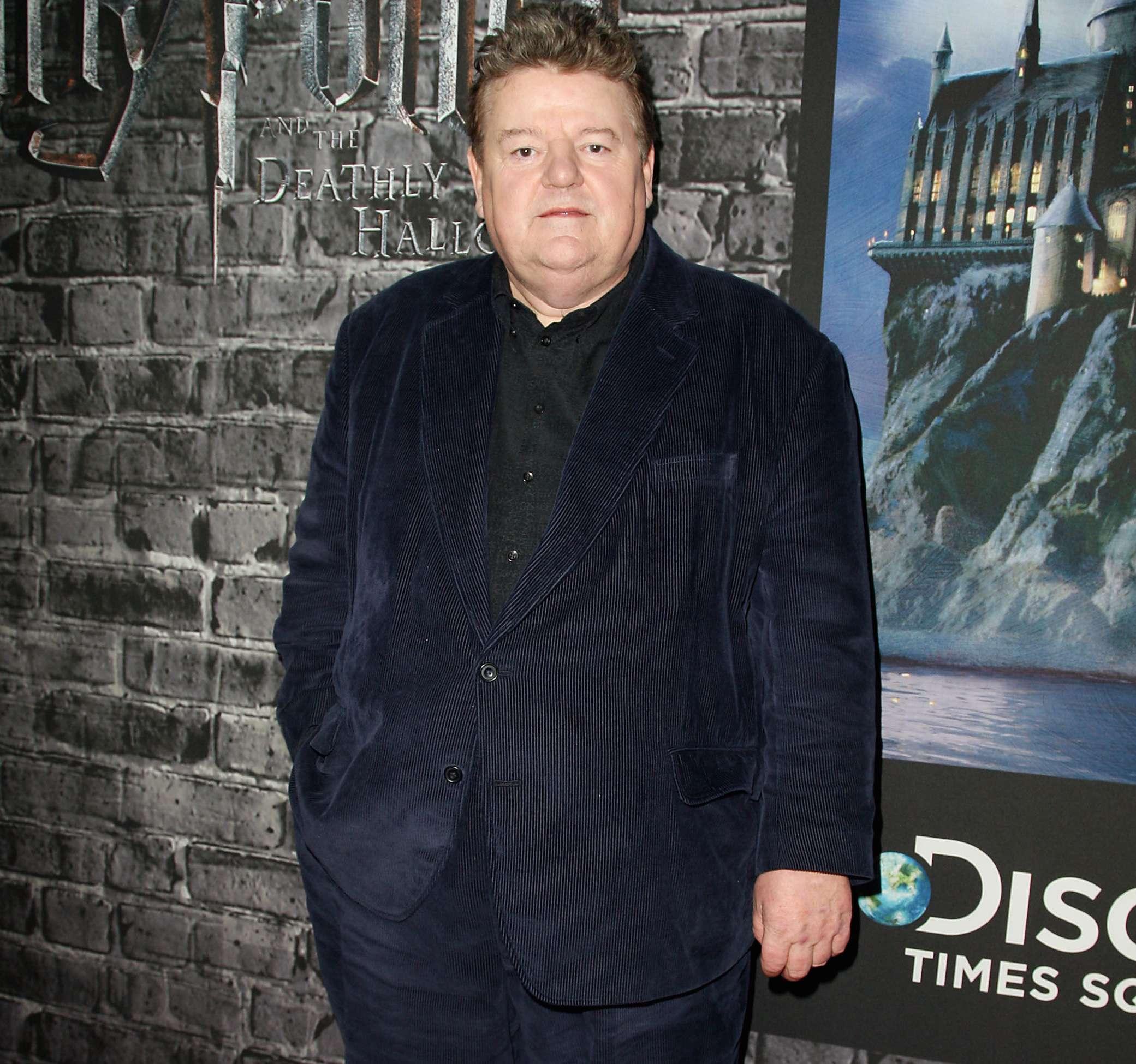 Robbie Coltrane interpretó a 'Hagrid' en la saga de 'Harry Potter'. Foto: AP en español