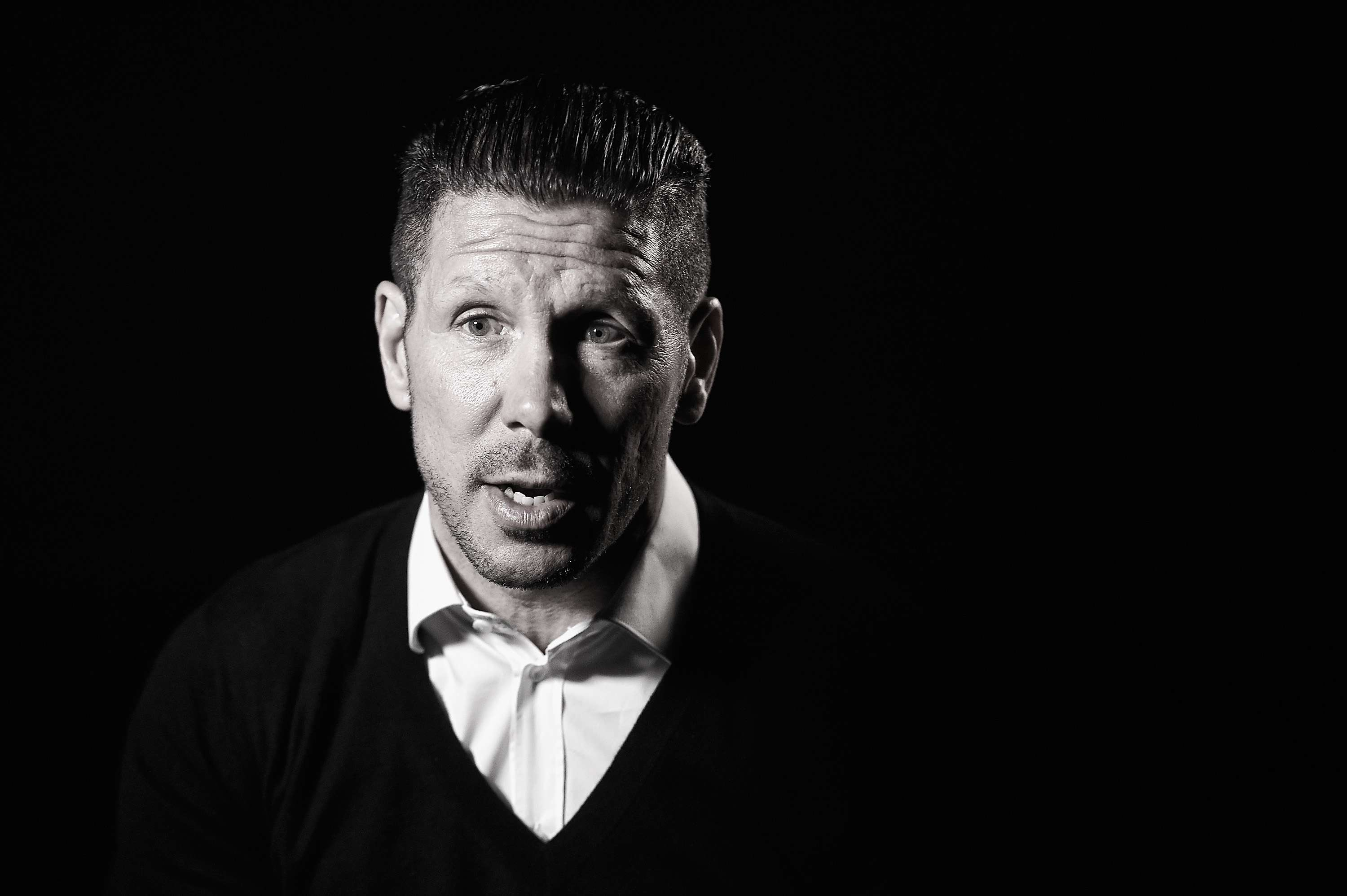 Simeone, técnico del Atlético de Madrid. Foto: Getty Images