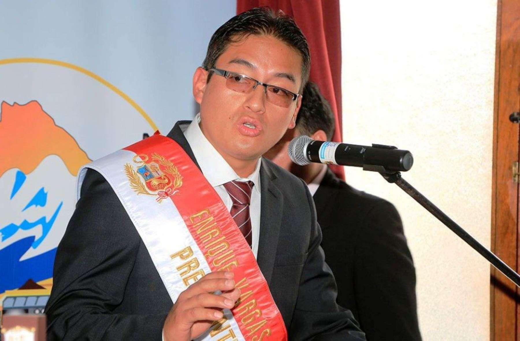 Enrique Vargas Barrenechea, presidente regional de Áncash. Foto: Andina