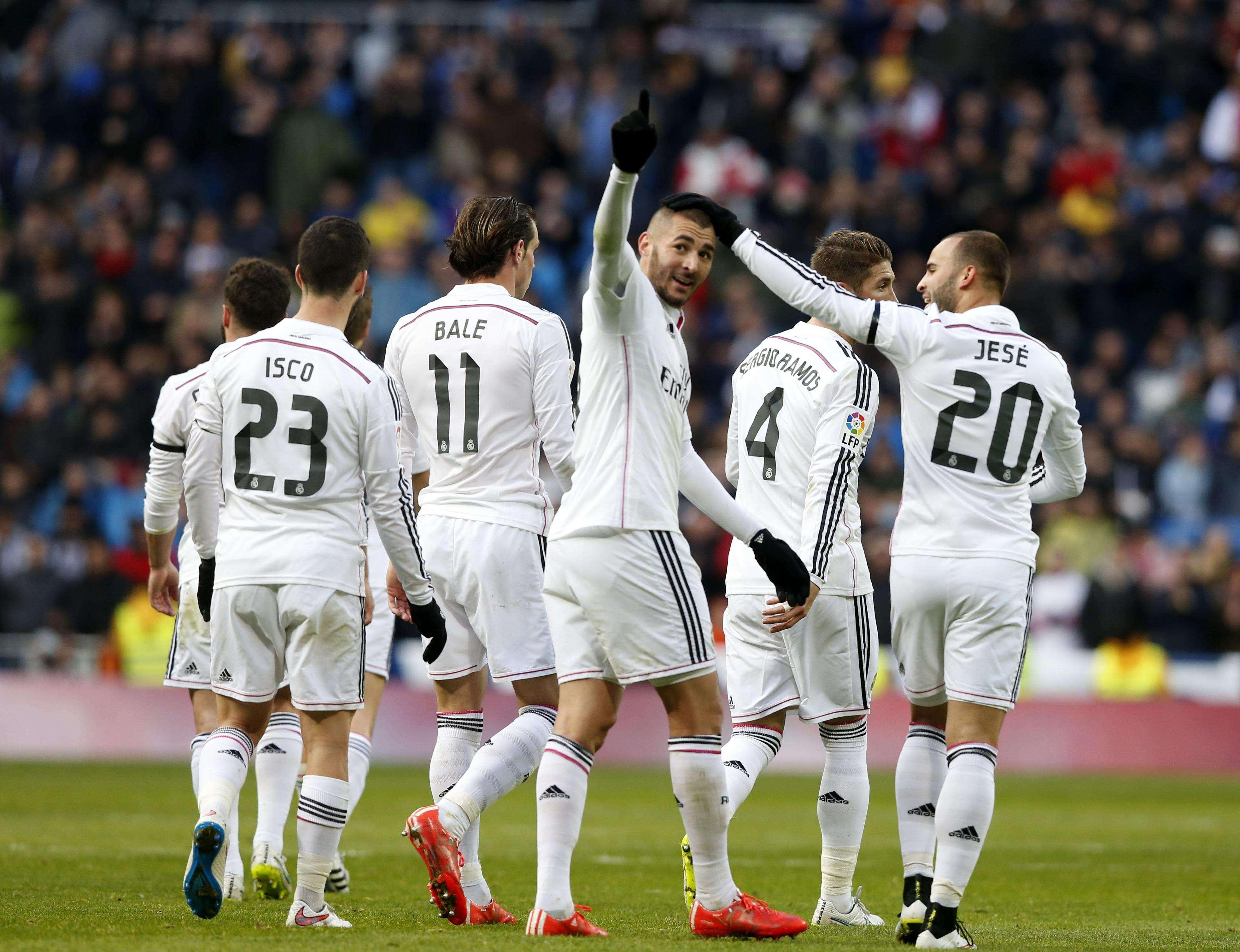 Real Madrid - Real Sociedad. Foto: EFE en español