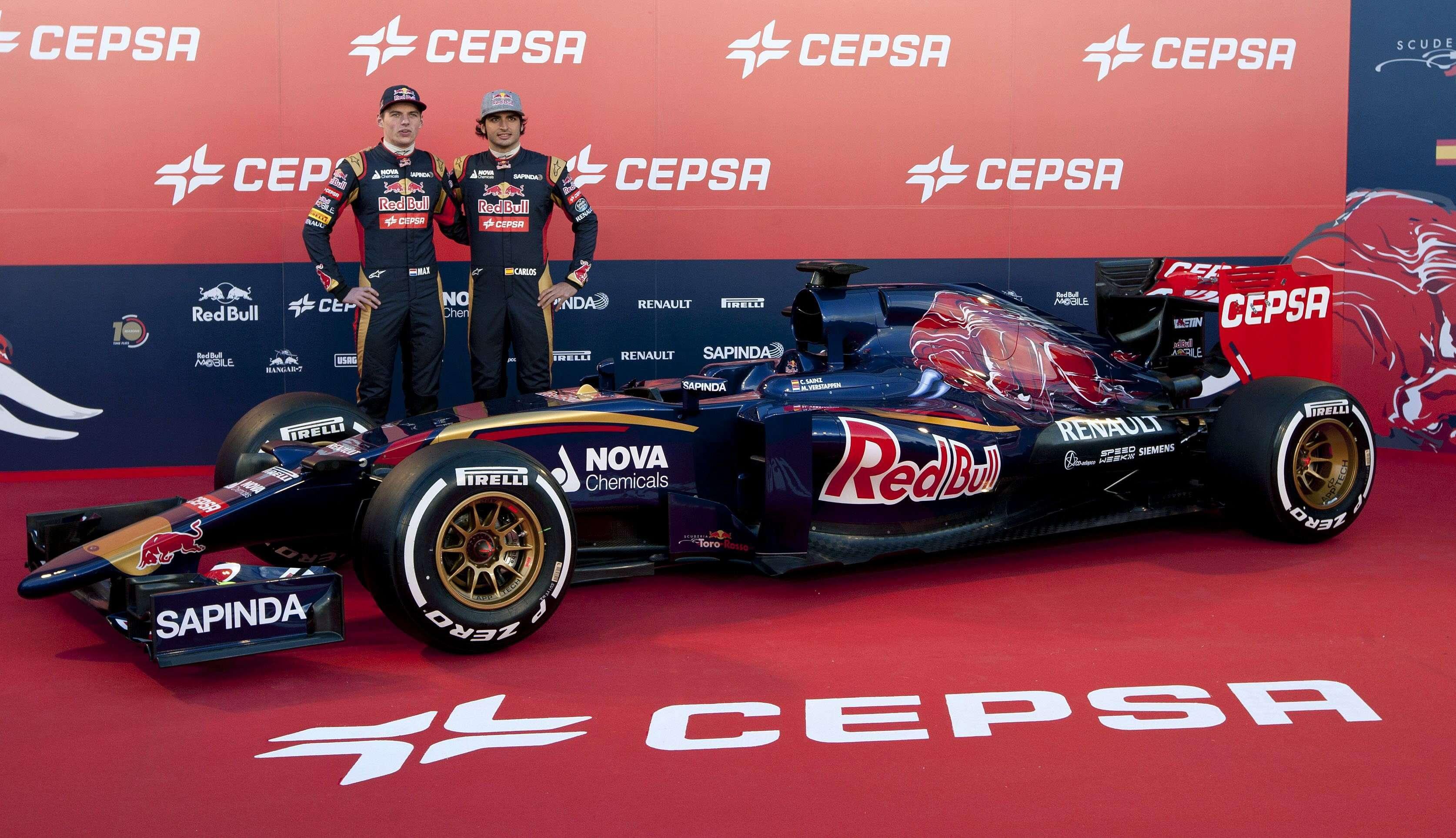 Presentación del Toro Rosso de 2015. Foto: EFE en español