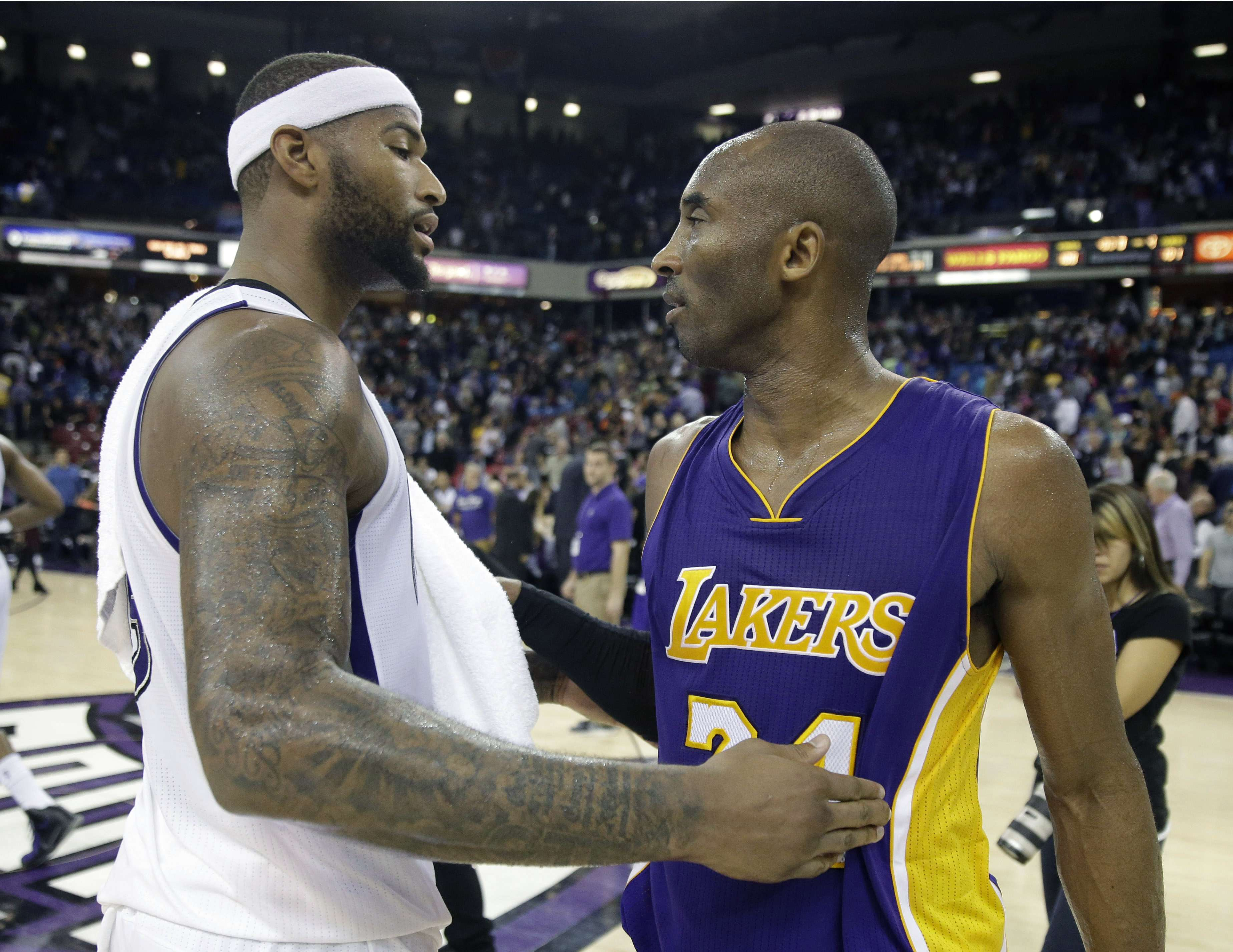 Cousins es el líder de los Kings. Foto: AP