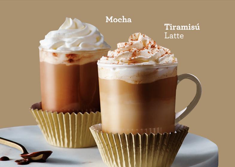 En Starbucks hay bebidas desde cero calorías hasta de 500 o más, es elección del cliente. Foto: http://www.starbucks.com.mx