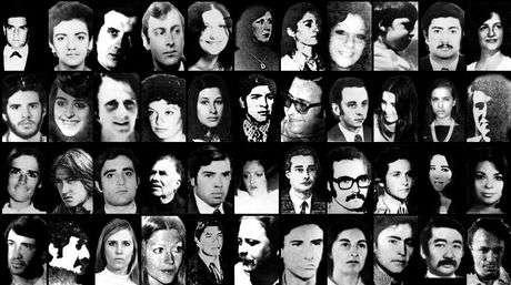 La última dictadura en Argentina dejó un saldo de 30 mil personas desaparecidas según los organismos de Derechos Humanos. Foto: NA