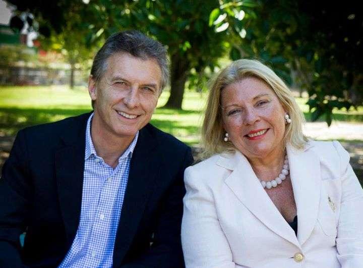 Macri y Carrió competirán en las PASO por la candidatura presidencial de este año. Foto: Facebook Mauricio Macri