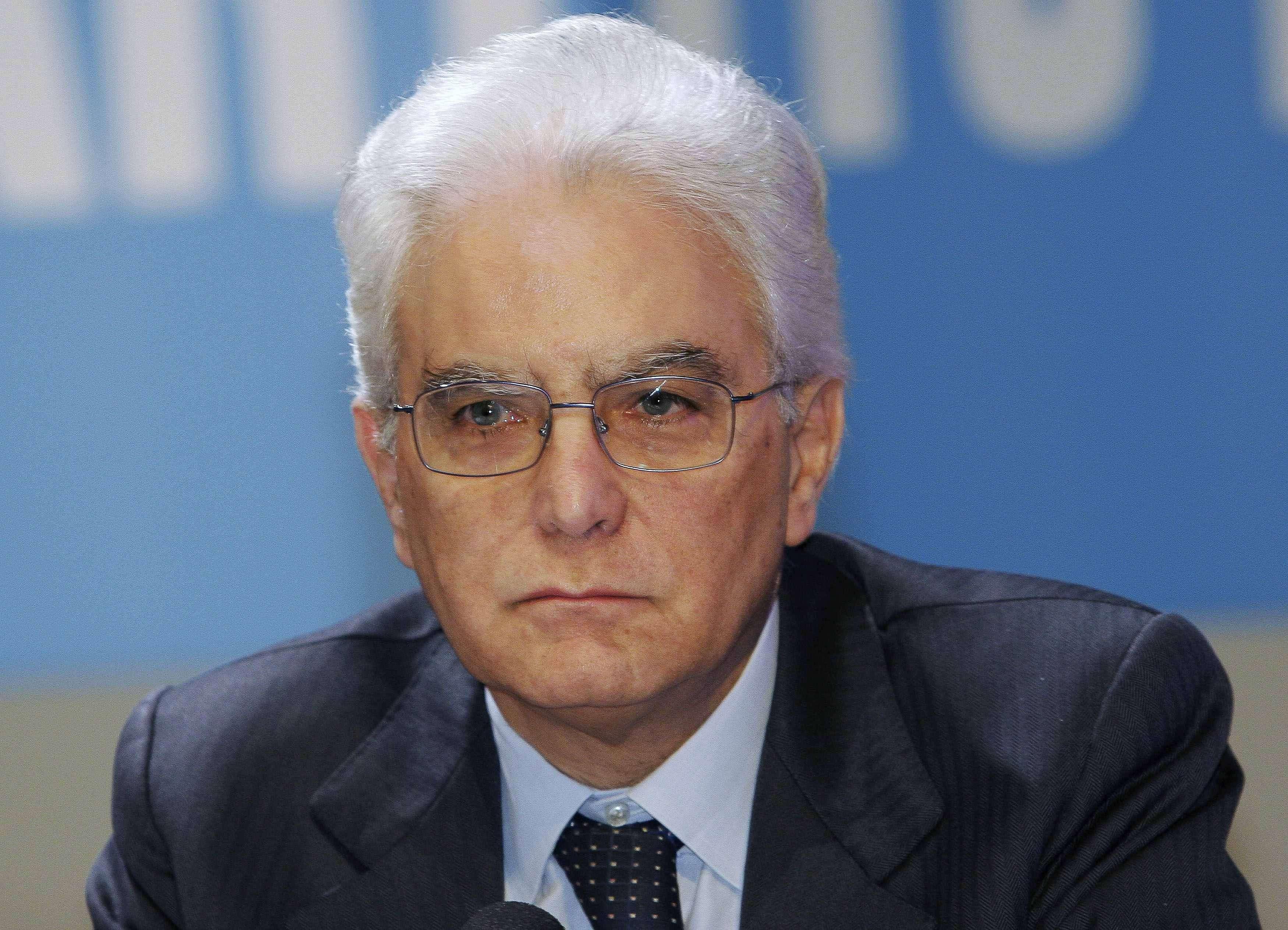 El magistrado del Tribunal Constitucional tiene 73 años y reemplazará a Giorgio Napolitano Foto: Reuters