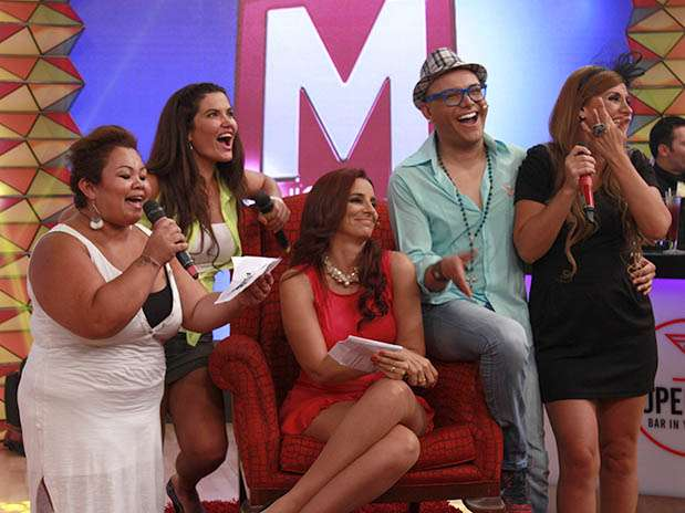 """""""Mujeres Arriba"""" de Carlos Cacho y Laura Borlini. Foto: Difusión ATV"""