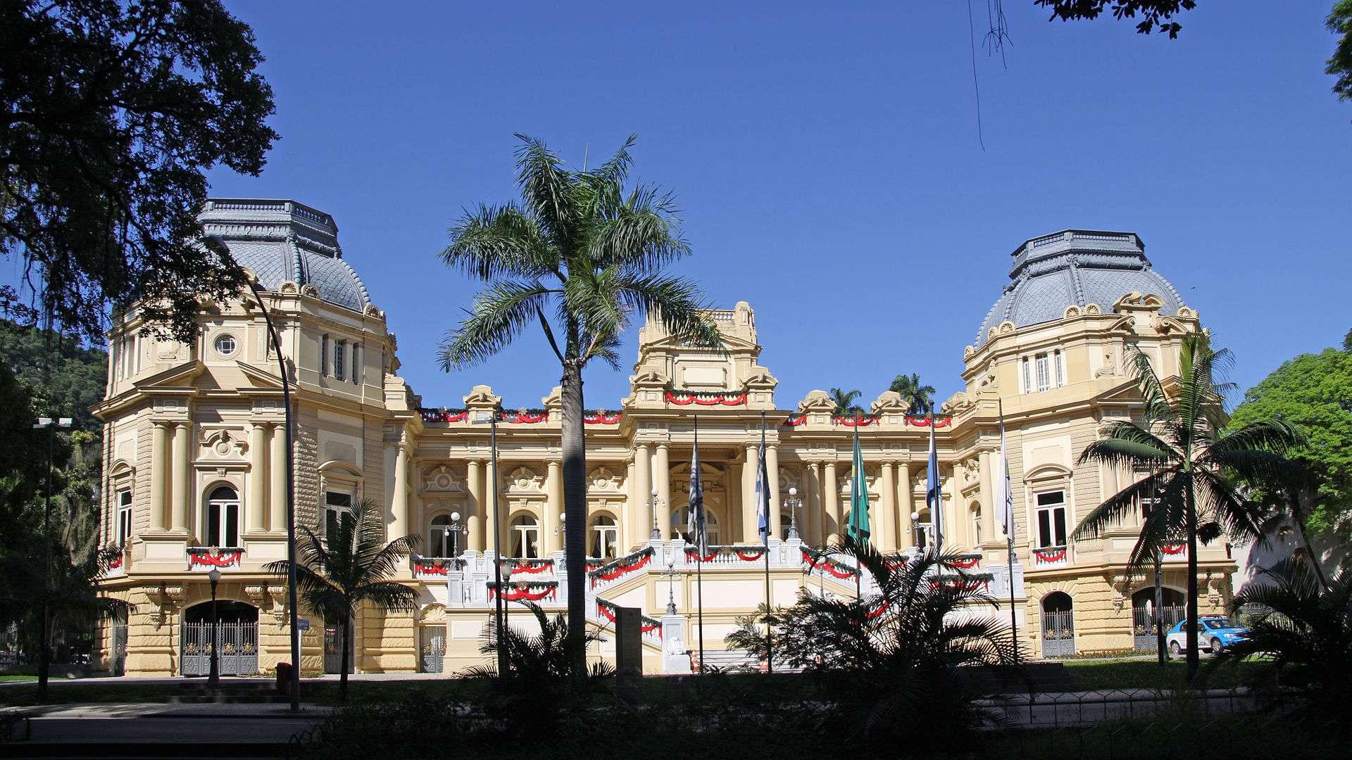 Palácio Guanabara foi residência da Princesa Isabel Foto: Wikimedia