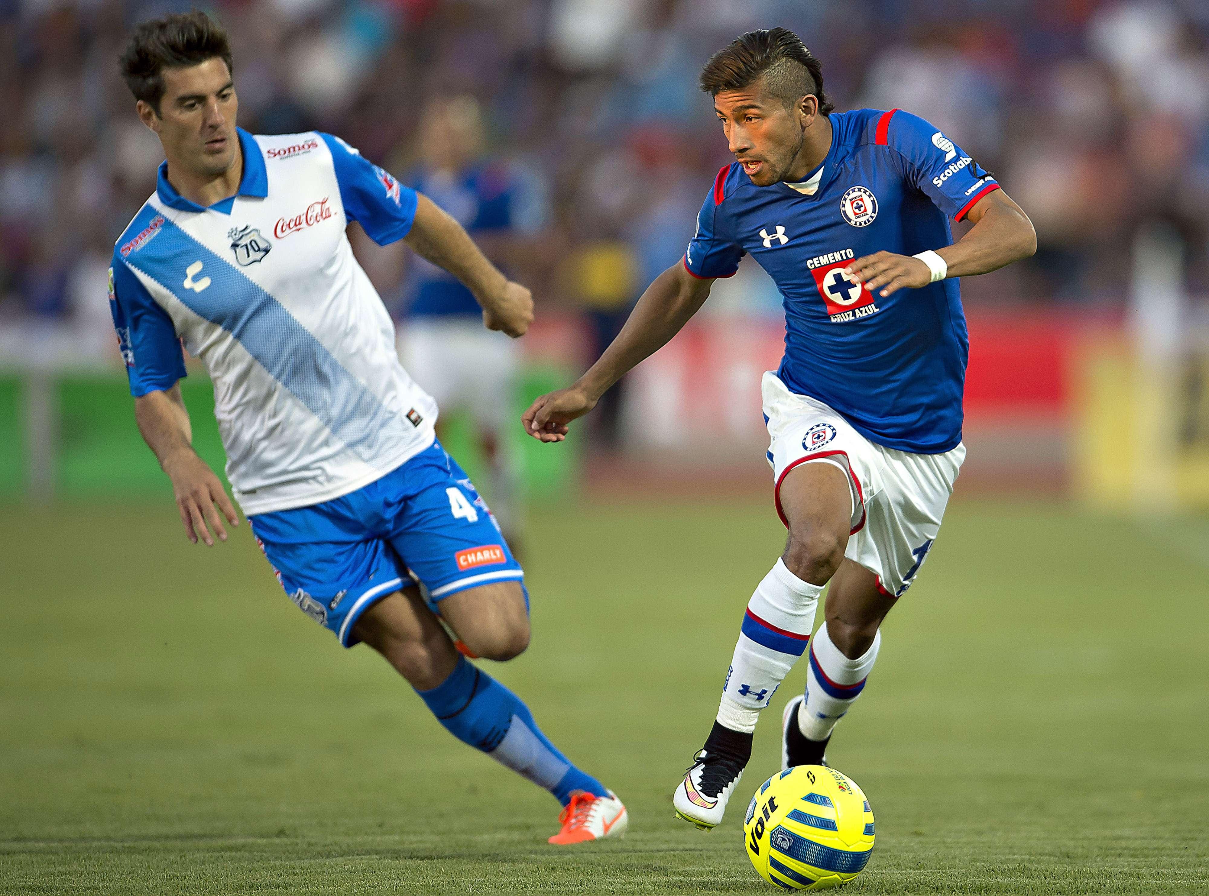 La Franja acumula cuatro años sin vencer al Cruz Azul en Puebla. Foto: Mexsport