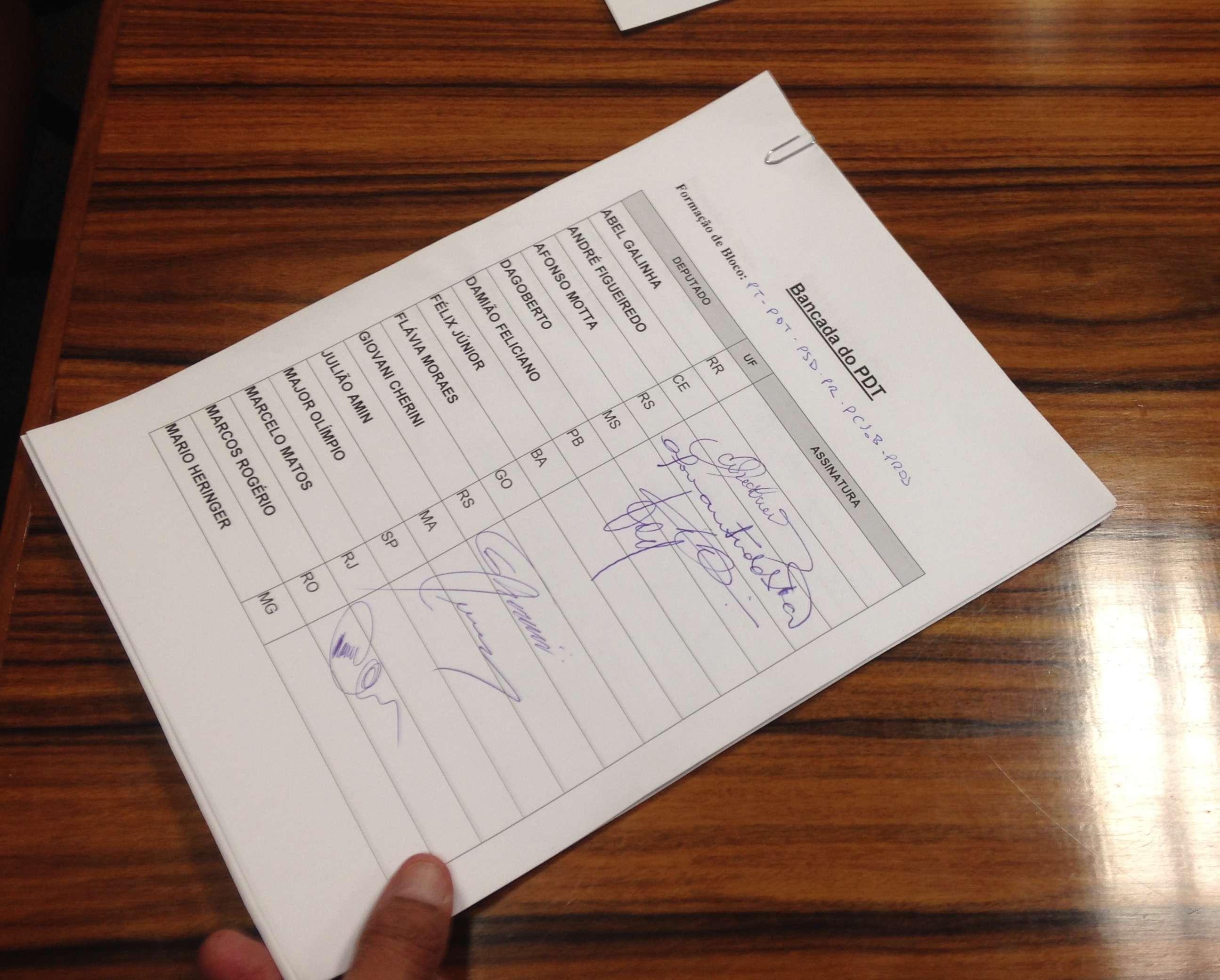 PDT não cumpriu prazo para registrar assinaturas Foto: Fernando Diniz/Terra