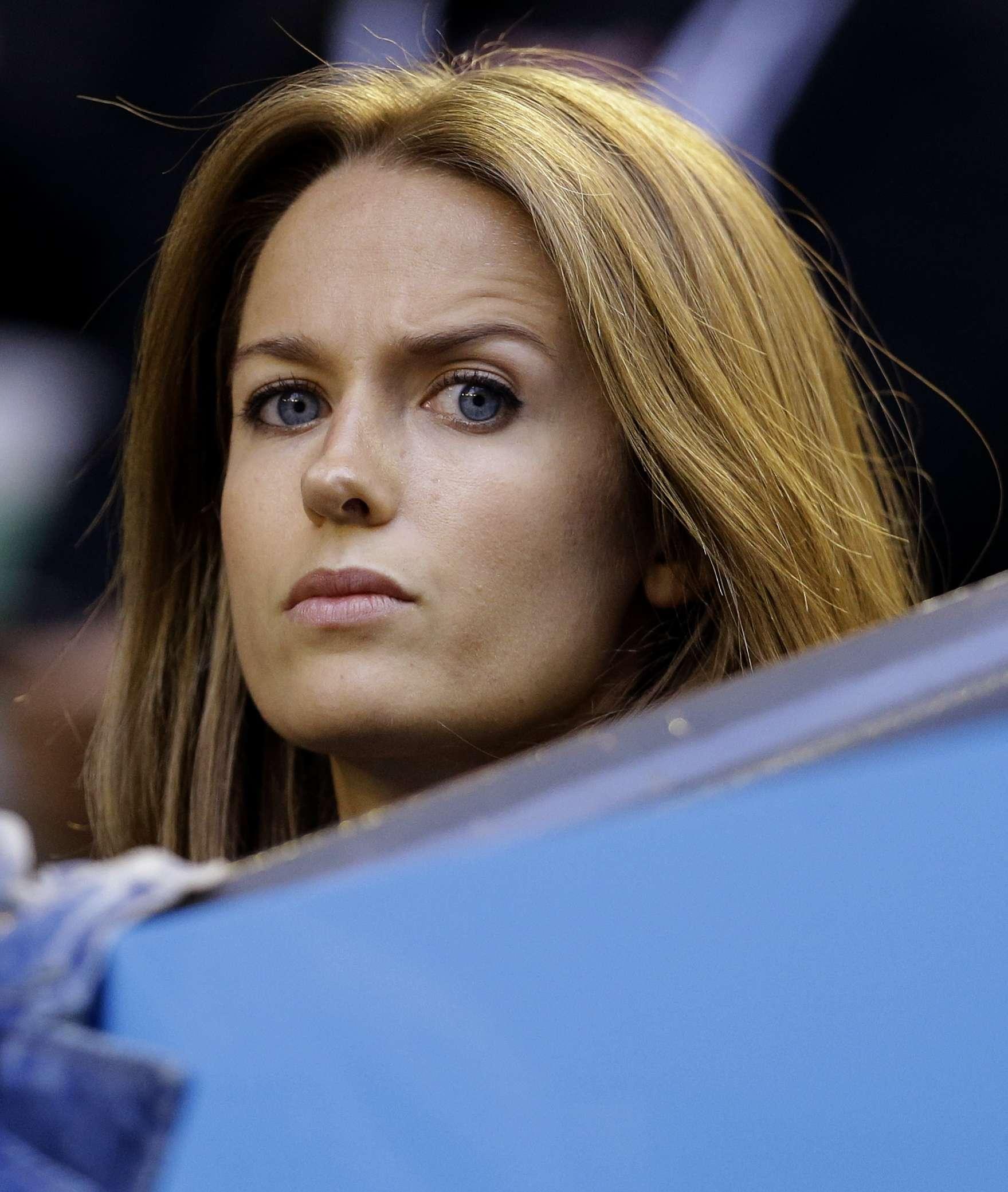Kim Sears, ahora es famosa por despotricar contra Berdych y no arrepentirse Foto: AP