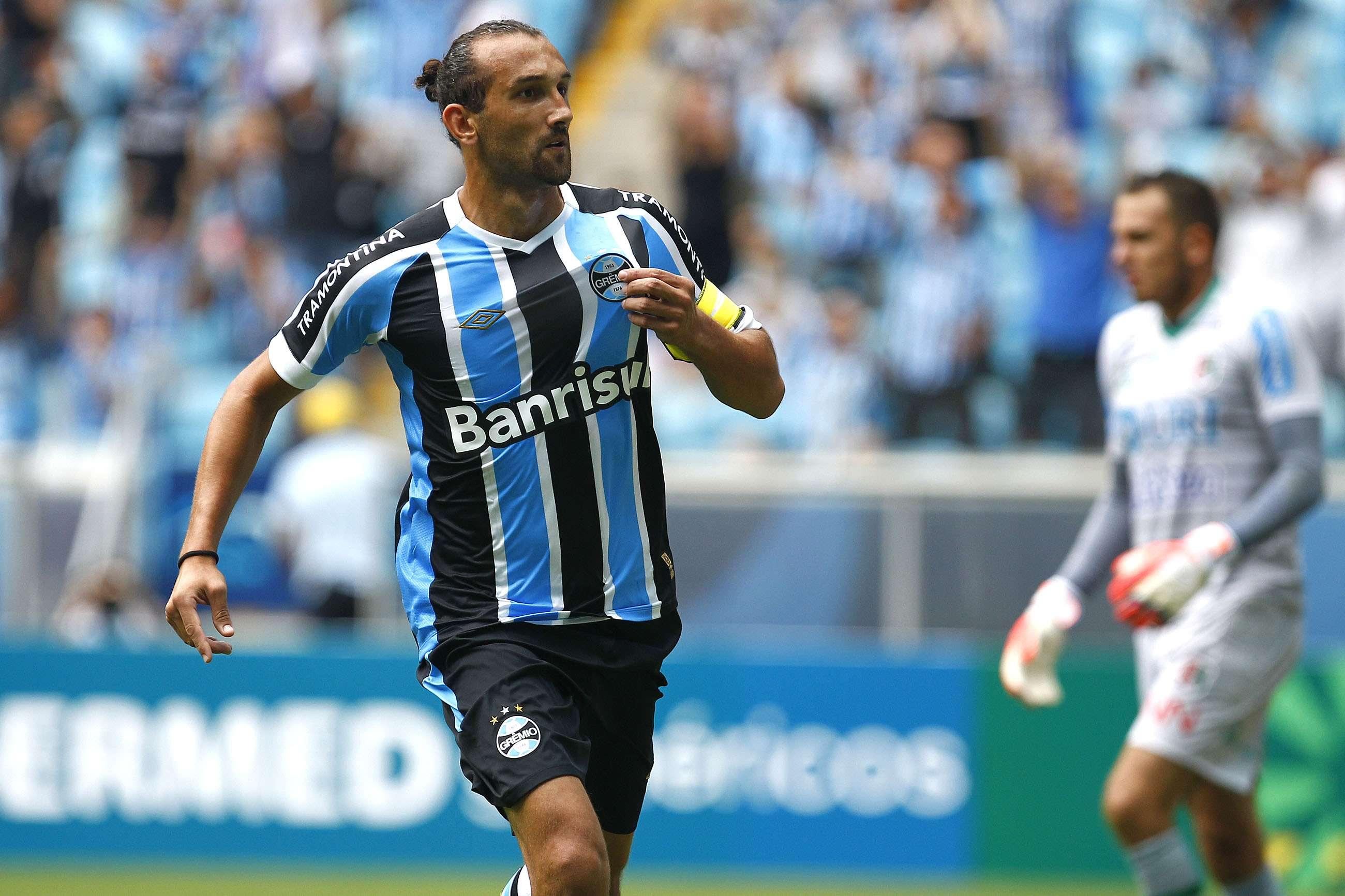 Barcos pode trocar o Grêmio pelo futebol chinês Foto: Lucas Uebel/Grêmio FBPA/Divulgação