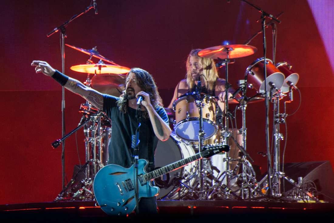 El concierto de Foo Fighters duró casi tres horas. Foto: Emilio Barriga/Terra Colombia