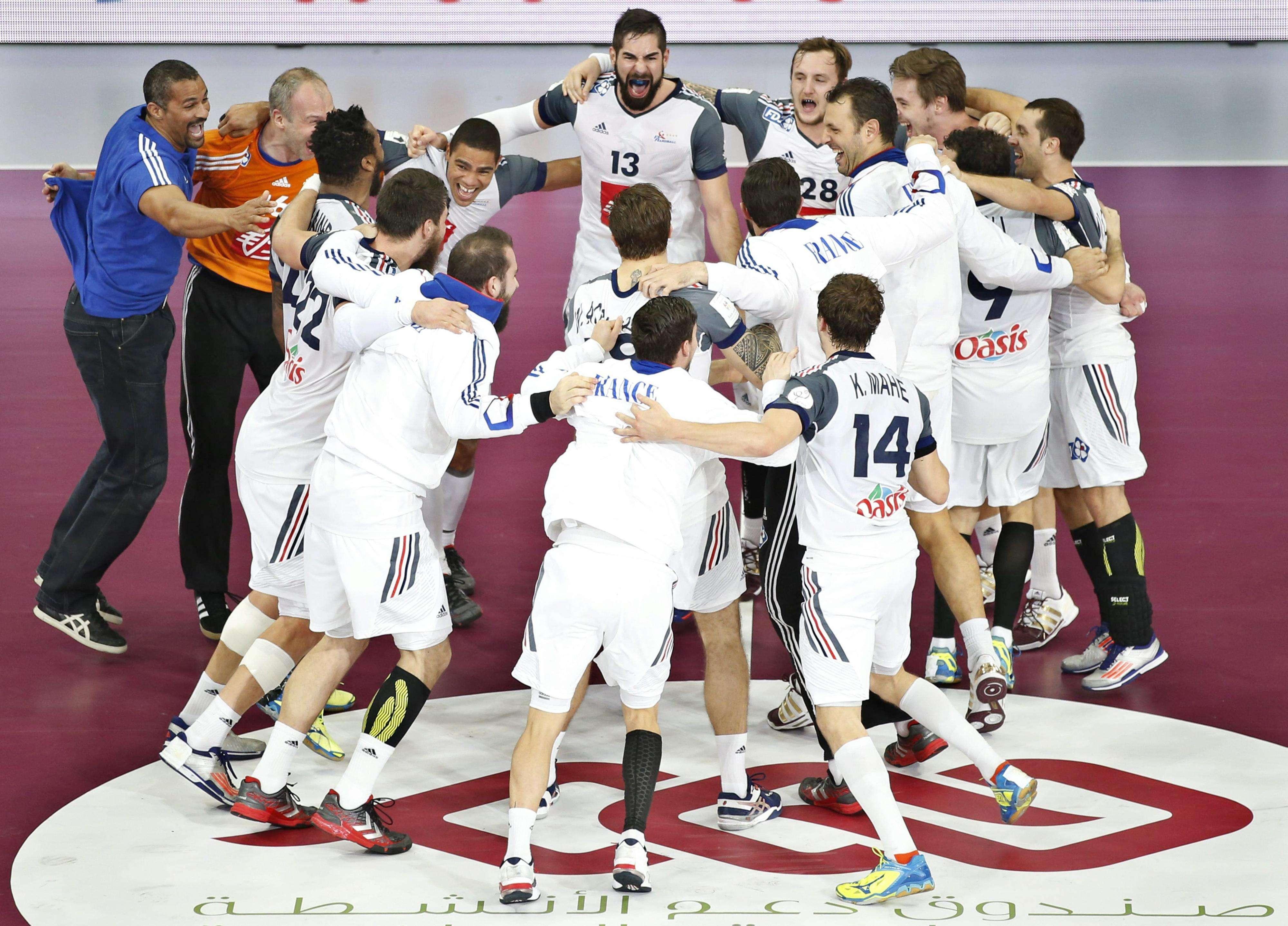 Francia, campeona del mundo de balonmano tras ganar a Catar. Foto: EFE en español